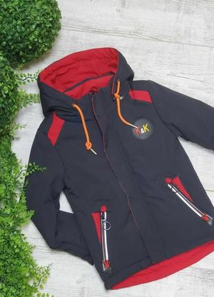 Размер 92-116 стильная, удобная, качественная курточка