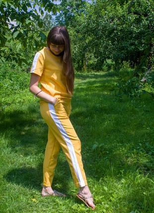 Легкий летний прогулочный костюм