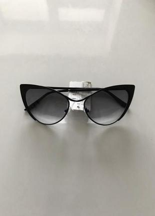Стильные очки cat eye кошачий глаз лисички