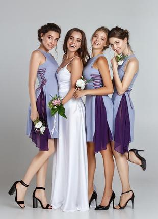 Платья для подружек невесты, 4 шт