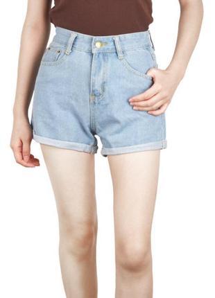 ‼️‼️распродажа ‼️‼️трендовые джинсовые шорты😍