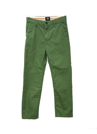 Брюки h&m 01526350052 зеленого цвета