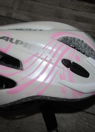 Велошлем alpina  обьем 50-55см