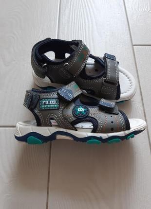 Сандали  bobbi shoes для мальчика