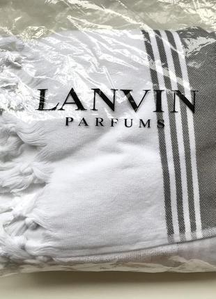 Пляжное полотенце,покрывало,плед lanvin parfums1 фото