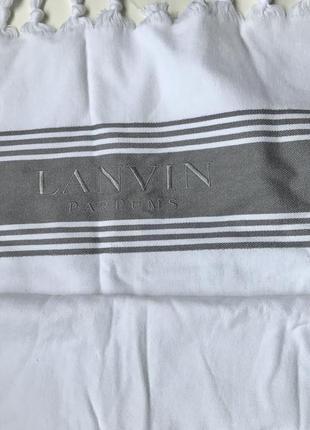 Пляжное полотенце,покрывало,плед lanvin parfums3 фото