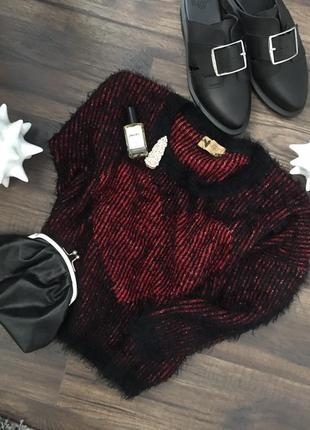 Укороченный свитер травка от японского бренда katsumi