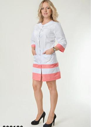 Халат медицинский, батист, р. 40-56; женская медицинская одежда, 892139