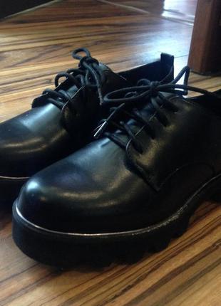 Туфли, оксфорды bershka