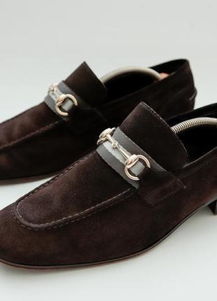Gucci оригинальные классические туфли, лоферы { prada}