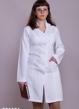 Халат медицинский, габардин, р. 40-58; женская медицинская одежда, 891106