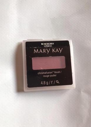 Румяна mary kay wineberry