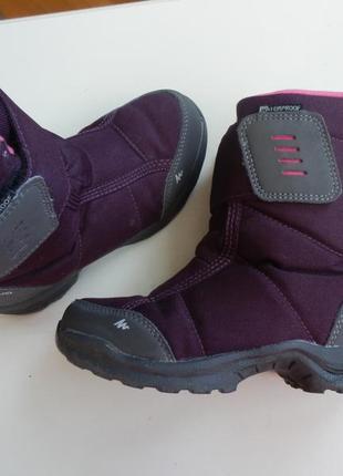 Зимние сапоги ботинки quechua 29р 18,5см