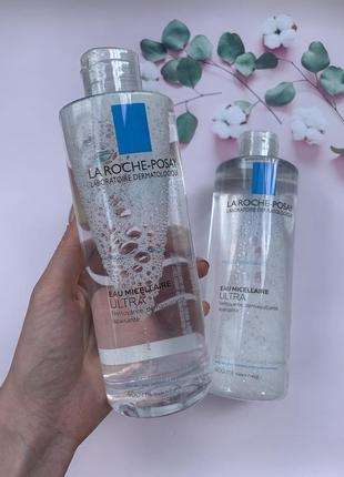 400 мл мицеллярный раствор la roche-posay physiological micellar water sensitive skin
