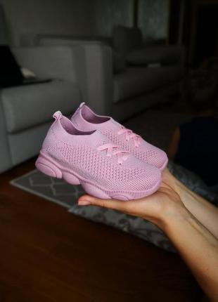 Лёгкие летние кроссовки для девочек