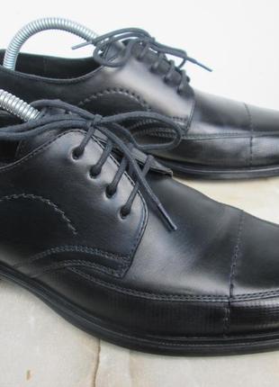 """Кожаные туфли """" lloyd """" модель """" drake """"  38.5 р. ( 25 см ). немцы."""