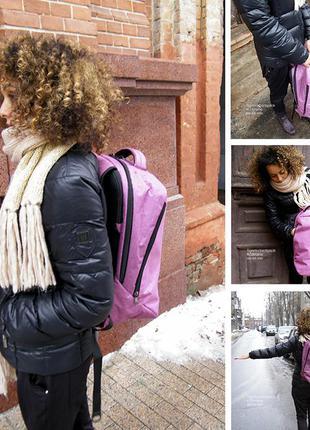 """Женский розовый рюкзак для ноутбука 17,3"""""""