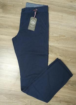 Крутые котоновые джинсы чиносы  cool club на мальчика 13-14лет