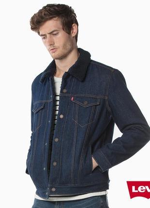 Оригинальная мужская шерпа куртка levis