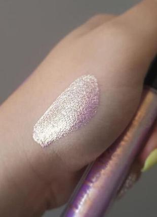 Кремовые тени-глиттер для век ciate london, сияющий розовый