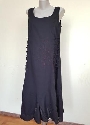 Стильное брендовое платье хлопок