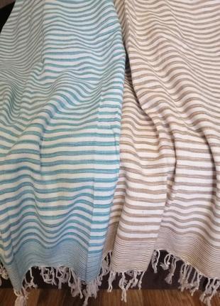 Набор пляжных полотенец подстилок большой размер