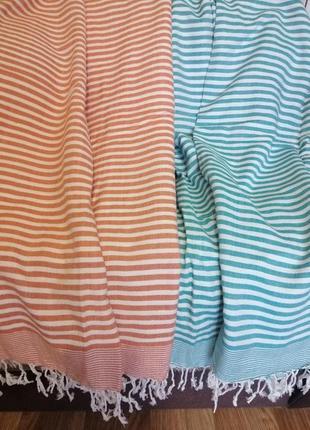 Набор пляжных подстилок полотенец большой размер