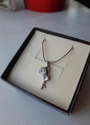 Набір ланцюжок і підвіска срібний вік / набор цепочка и подвеска серебряный век