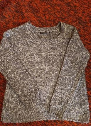 Шикарный свитер свитерок джемпер реглан свитшот