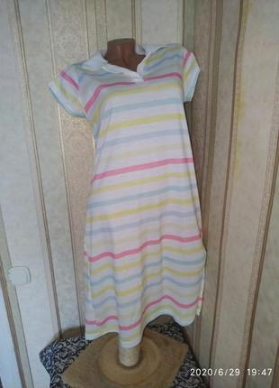 Платье тениска