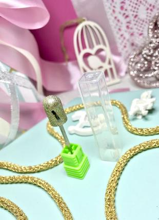 Фреза для педикюра алмазная diamond burr twister с, 10 мм