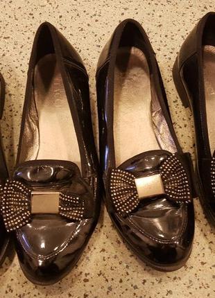 Туфли лоферы балетки