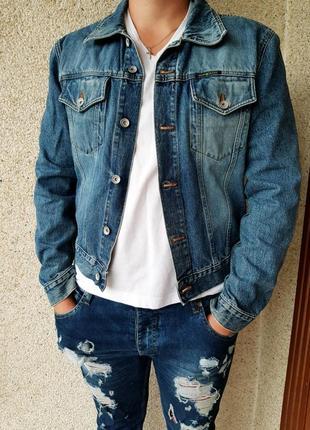 Джинсовка,джинсовый пиджак,жакет