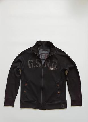G-star size l m олимпийка мужская куртка лёгкая ветровка черная джи стар