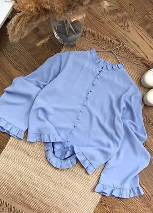 Загрузила розпродаж! оригінальна нарядна блузка на гудзиках