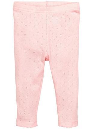 Леггинсы h&m 0336947001 розового цвета