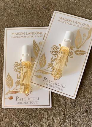 Lancome maison lancome patchouli aromatique пробник 1,5ml