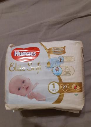 Подгузники huggies 1