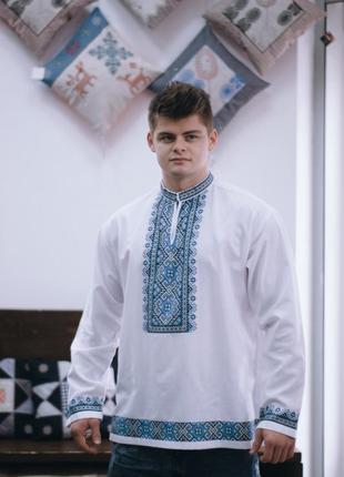 Вышитая сорочка мужская