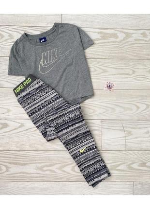 Лосины топ футболка nike pro adidas ellesse kappa