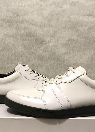 Calvin klein bane оригинал р. 44 45 new мужские кроссовки кеды белые кожа