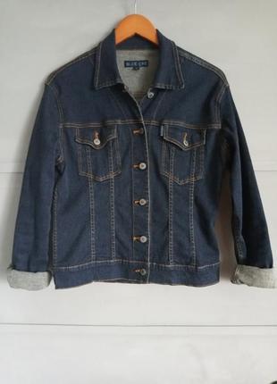 Джинсовка. джинсовая куртка. джинсовый пиджак. оверсайз. классика