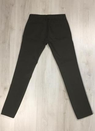 N9 джинсы topman оливковые топман зелёные штаны