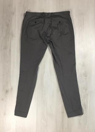 N9 брюки asos с лампасами серые штаны асос