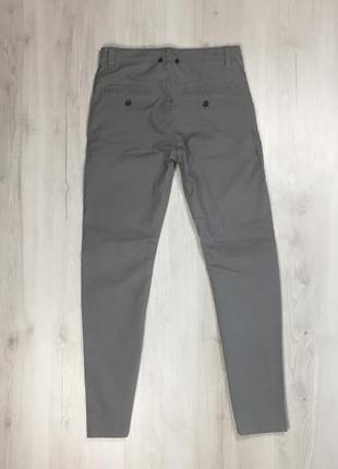 N9 штаны h&m клетчатые серые брюки