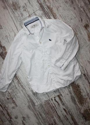 Рубашка белая на 4-5 лет