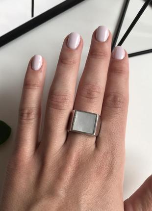 Чоловічий перстень, кольцо печатка від бренду seven 🌿з сайту asos