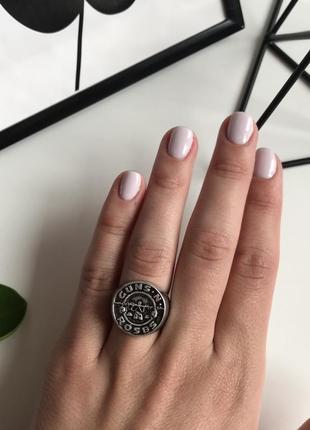 Стильне сріблясте колечко , кольцо з сайту asos