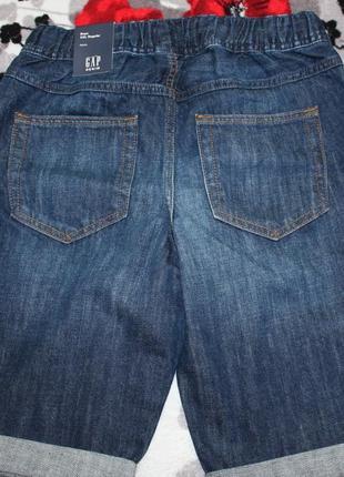 Шорты джинсовые (новые) gap kids