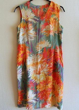 Платье сарафан по фигуре силуэт облегающее футляр натуральная ткань креп-жоржет